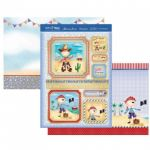 Howdy Shipmate! Hunkydory Topper Sheet